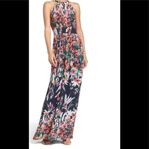 Eliza J Halter Chiffon Dress-sz 14